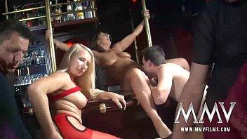 MMV FILMS Amateur Swinger Party at the pub 13 min