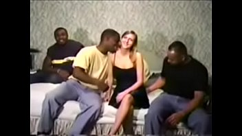 ann gets gang b anged by group of black dudes of black dudes