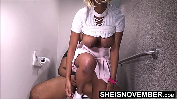 Vagina sagging - Taboo fauxcest step brother you better not tell your dad i fucked you, innocent ebony step sister msnovember pull down panties and ride his bbc big natural ebonyboobs sagging on toilet on sheisnovember