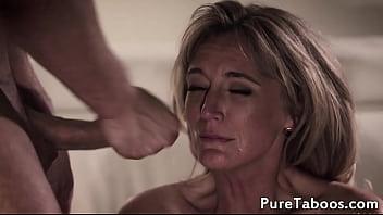 Stepmom Watches Teen Fucking Chicks Pussy