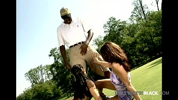Private Black - Dominika & Sandra Ass Fucked On Golf Course!