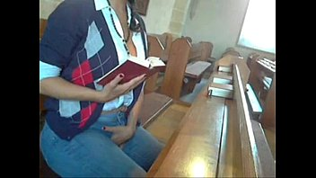 Naked church girls Masturbating in church