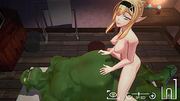Orc Massage [3D Hentai, 4K, 60FPS, Uncensored] 3 min