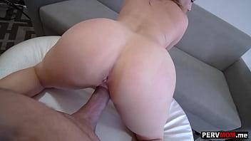Huge boobs stepmom Natasha Nice accidently grabbed my big dick