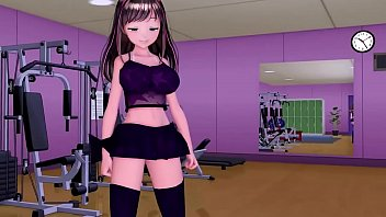 MMD workout porno izle