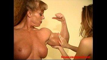 Vintage wrestling - Sheila burgess muscle domination