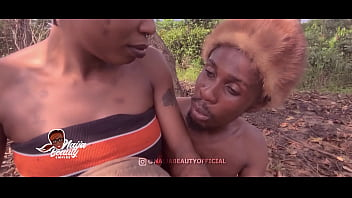 Naija Beauty Empire - Princess Adaura and Emeka the outcast  making out time in the forest - Free version - watch full video on 4K on xvideos Red
