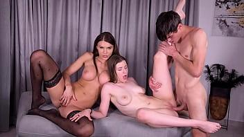 Kinky MILF Kitana Lure Anal Fucked by Stepson After Wild Lesbian 69