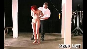 Bondage videos home - Tit castigation non-professional home porn