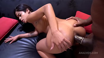 Hakuna MATATA: Natasha Rios destroyed by BBC (Vomit play, tapped pussy, condom removal, 0% pussy) - DRY version OB008 57 sec