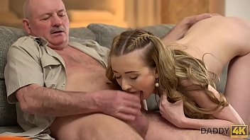 DADDY4K. Smoking hot Jessi cheating on her bf with his dad Thumb