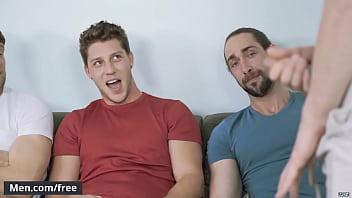 "(Colby Keller, Jacob Peterson, Paul Canon, Roman Cage, Trevor Long) - My Whore Of A Roommate - Jizz Orgy - Trailer preview - Men.com <span class=""duration"">70 sec</span>"