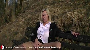 Marina Montana pissing 6 min