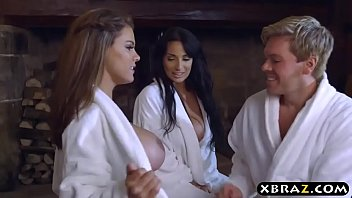 Lost nc-17 kate threesome - Big tits peta jensen and anissa kate hot threesome fuck