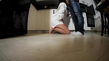 Curvy ass teen banged in the kitchen  https://www.mywetty.com/home