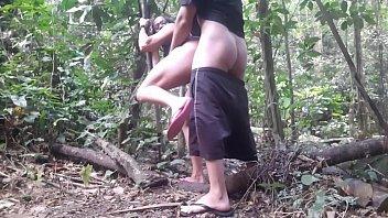 A crazy  woman  loose  In the bush seg Just  wants  pleasure.