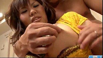 Reina Sakai gets cock in both her cramped holes