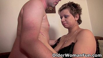 Naked older women free galleries - Mommy will drain your balls with her curvy body