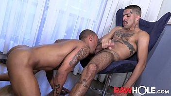 Gay tattoo ink - Rawhole inked renan dotadao fucks brazilian hole bareback