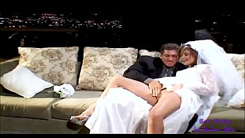 Wedding night for young Tyla, who gets all her still tight holes fucked - Anal -