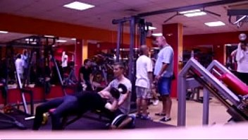 Would You Spot Her- Gym Prank