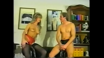 Lusty European blonde chick with perky tits tries to find any man who is able to make sex longer then poor two-three minutes