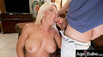Mature bouncing titties Tiffany rousso is a big tittied mature woman who rides and bounces on rauls meaty cock