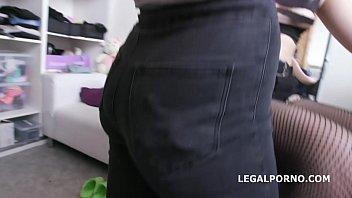 Big Butt slut Selvaggia gets DAP & DP by 2 massive cocks