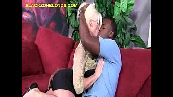 Interracial Couple Makes Out