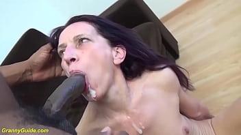 skinny ugly mom big black cock fucked