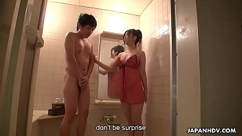 Good looking Asian fairy eagerly takes away shy dude'_s virginity