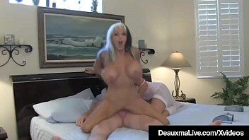 Horny Wife Deauxma Sees Hubby Ass Fuck Sally D'Angelo!