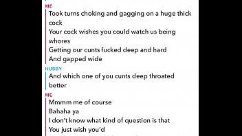 Sexting and Cuckolding Husband on Snap chat thumbnail