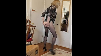Sissy is exposed and humiliated in self shot video