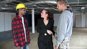 3some On The Dutch Construction Site 21分钟