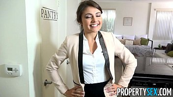 PropertySex - Ridiculously attractive real estate agent fucks her ex boyfriend thumbnail