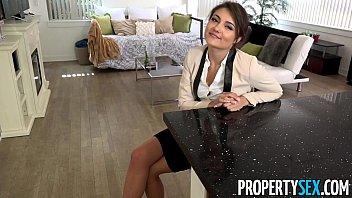 Propertysex - Ridiculously Attractive Real Estate Agent Fucks Her Ex Boyfriend