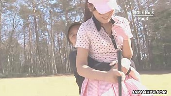 Us amateur golf champions Asian babe gets naked at the golf course