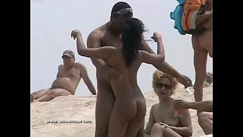 Sexy nude nudist Black woman nude beach