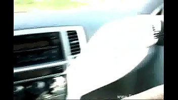 Big Tit Sister Jerks Brother In Car
