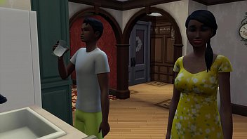Ebony Mom And Black Son