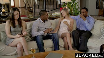 BLACKED First Interracial Threesome For Sydney Cole porn thumbnail