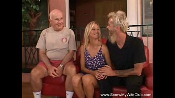 Cuckold milfs Happy blonde swinger milf