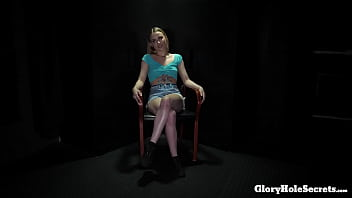 Young Blonde Gets All The Cum She Needs In The Gh