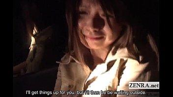 Subtitled Japanese ghost hunting masturbation mission 3 min