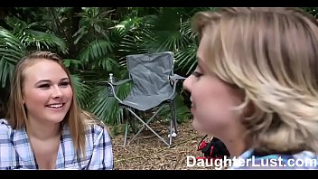 Horny Daughters Fuck Dads On Camping Trip