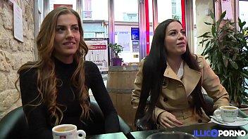 Les soeurs jumelles Dellai se tapent un gros ve...