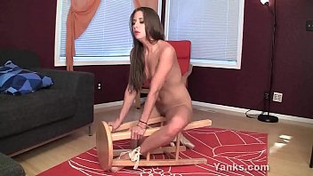 Yanks Belle Humping Her Chair