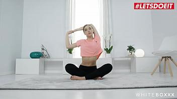 WHITE BOXXX - #Oxana Chic #Kristof Cale - Hot Yoga Sex With A Cute Ukrainian Girlfriend