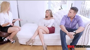 Teen crisis counseling Carolina sweets counsels bro sis to fuck eachother without guilt